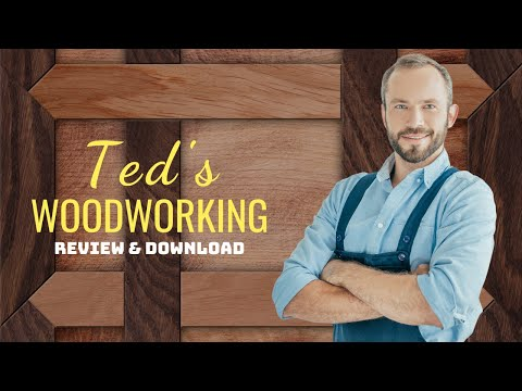 Ted's Woodworking Plans PDF, Review & Projects Download (Ted Mcgrath)