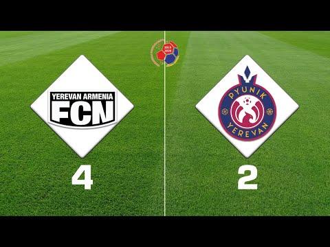 Noah - Pyunik 4:2, Armenian Premier League 2019/20, Week 17