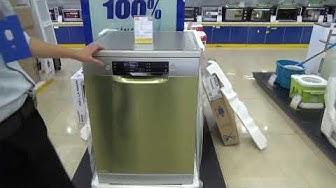 Giới thiệu máy rửa bát Bosch SMS46GI05E