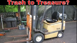 Will It Run? cheapest Forklift I could find .pt3