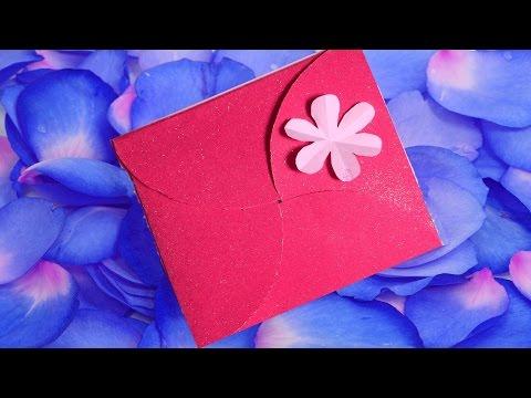 4-Fold Birthday Party Invitation Card --- DIY Paper Craft