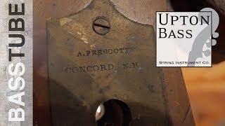 For Restoration: Amazing Original Abraham Prescott Double Bass