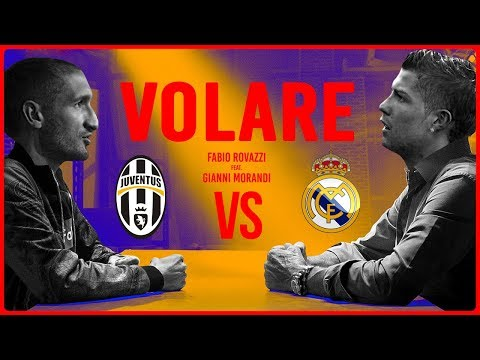 JUVENTUS - REAL MADRID (Feat. Chiara) PARODIA VOLARE [Official Song]