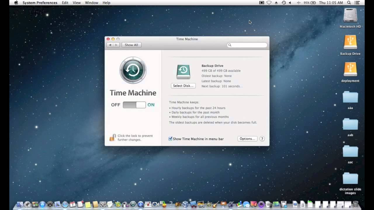 macintosh time machine