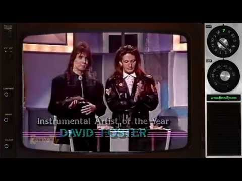 1987 - Juno Awards - Dave Betts & Mark Holmes - Instrumental Artist of the Year to David Foster