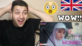 Gambar cover TONES AND I - DANCE MONKEY (COVER CHERYLL) BRITISH REACTION!