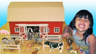 Schleich Barn Farm Animals Learn Names and Sounds Educational for Kids