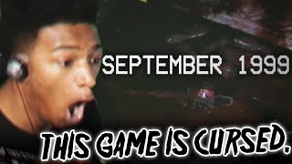 ETIKA PLAYS THE MOST CURSED GAME ( SEPTEMBER 1999 )