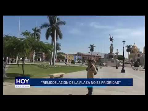 """Gobernador regional: """"Remodelación de Plaza Mayor no es prioridad"""""""