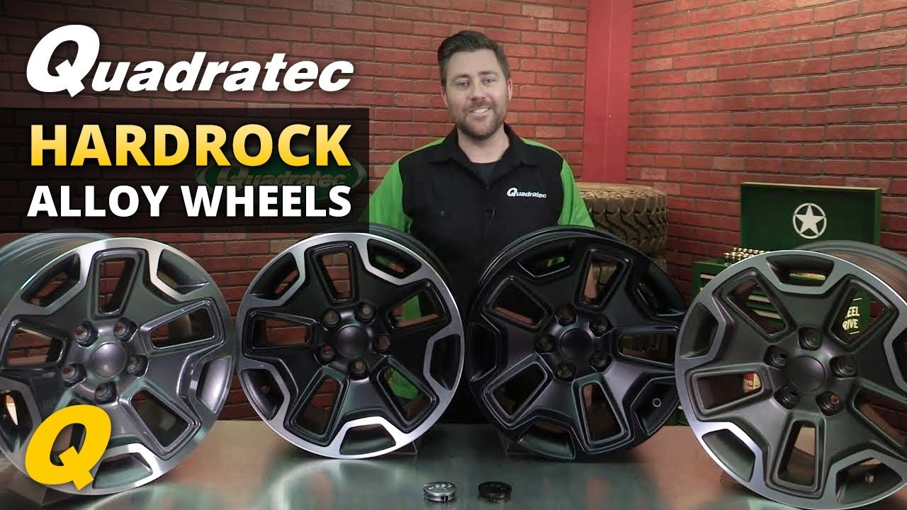 Jeep Jk Wheels >> Quadratec Hardrock Wheels for Jeep Wrangler and Grand Cherokee - YouTube