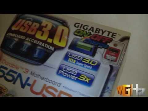 Gigabyte GA-H55N-USB3 @ GHz.gr (Preview)