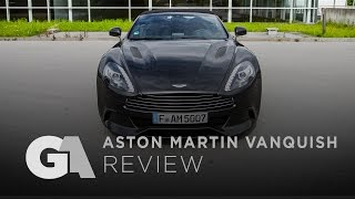 homepage tile video photo for REVIEW: Aston Martin Vanquish Volante - The Last of its Kind