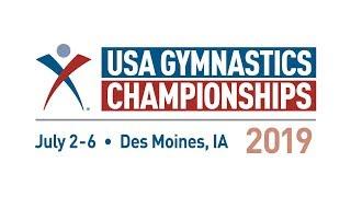 2019 USA Gymnastics Championships - Senior Elite Combined Session - Day 3