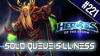 SURVIVING THE LONG GAME - SOLO QUEUE SILLINESS #221 [HEROES OF THE STORM HD]