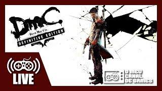 [Live] DMC: Devil May Cry (Xbox One X) - Caçando Demônios AO VIVO #3 (Aquecimento DMC5)