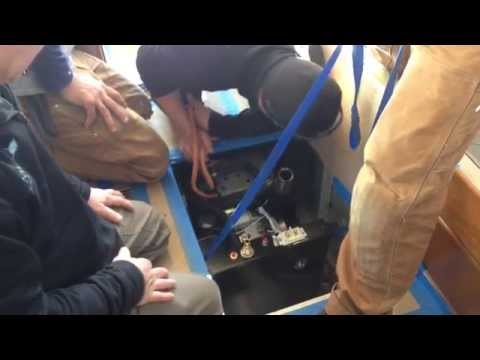 Boat Generator Install Youtube