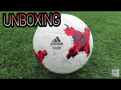 Confederation Cup 2017 Official Ball Krasava-Unboxing
