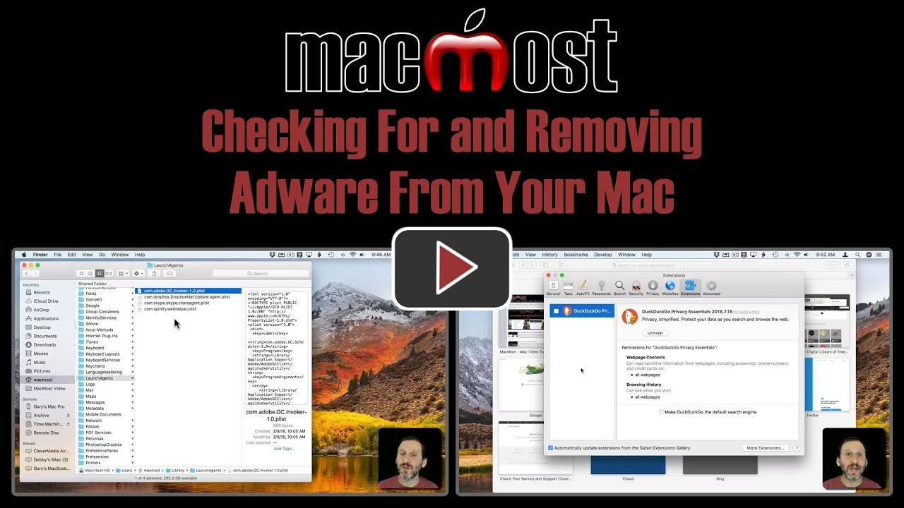 Checking For and Removing Adware From Your Mac