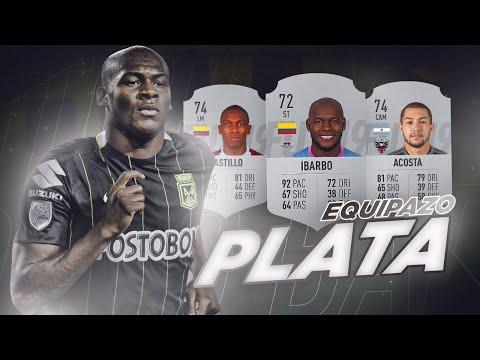 EQUIPAZO DE PLATA HIBRIDO !! ARGENTINA - COLOMBIA !! *BRUTAL*