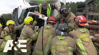 Live Rescue: Help! I'm Stuck! - 5 Worst Trapped Victims | A&E