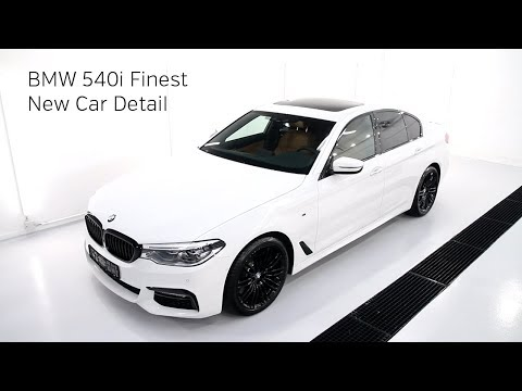 High End Detailing 2018 BMW 540i Finest New Car Detail
