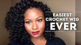 DIY EASIEST CROCHET WIG EVER |Bounce Curl (SuperlineCollection)