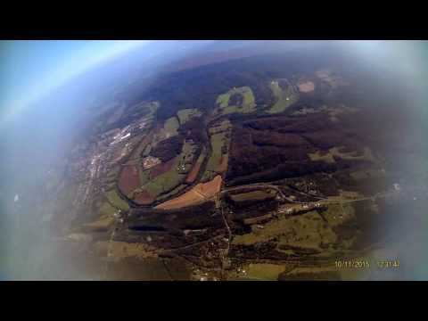 EFT-4 Weather Balloon Launch - Fishers Hill, VA 10/11/15