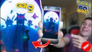 GENERATION 3 HALLOWEEN UPDATE CONFIRMED! NEW POKÉMON GO GEN 3 LOADING SCREEN, CODE & MORE!