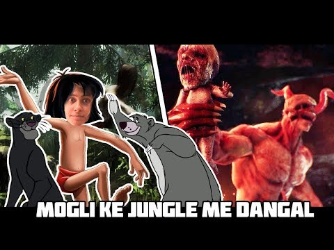 MOGLI KE JUNGLE ME BHOOT KE SATH DANGAL || THE FOREST Game