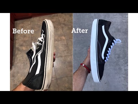 HOW TO CLEAN YOUR VANS LIKE NEW FOR FREE