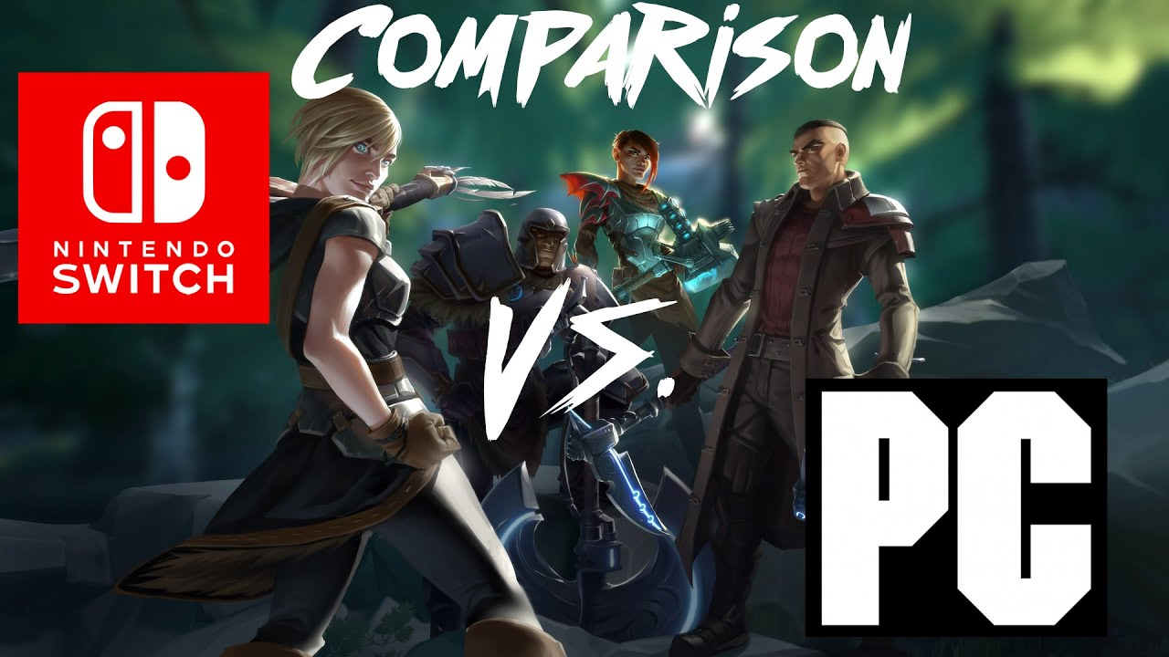 Dauntless Switch (DOCKED) vs Dauntless PC | COMPARISON