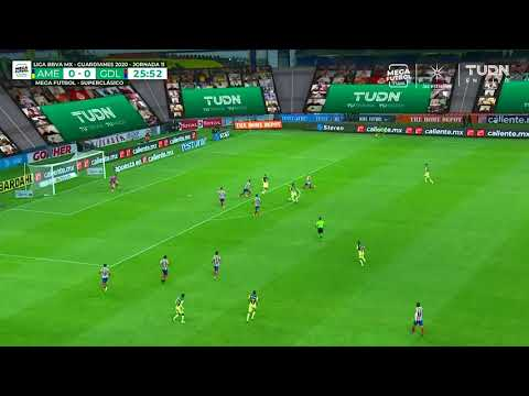 Gol Gio   América 1 - 0 Guadalajara   Liga MX - Guardianes 2020 - Jornada 11   LIGA BBVA MX