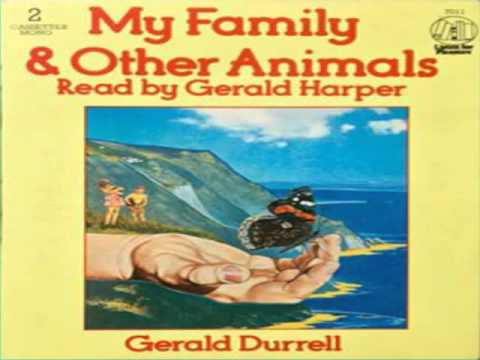 MY FAMILY & OTHER ANIMALS  read by Gerald Harper