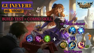 Perbandingan Build Item Guinevere Dengan Kombo Skill - Build Test | Mobile Legend