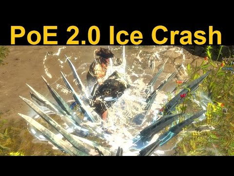 poe how to get ice crahs