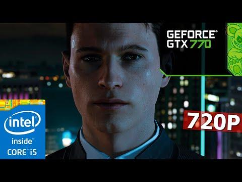 Detroit: Become Human | GTX 770 + I5-3570K | 8GB | Low Settings | 720P