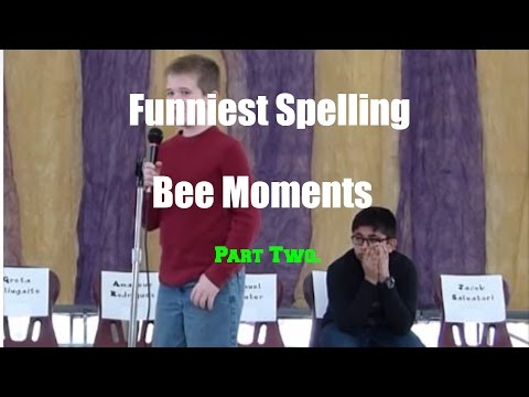 Funniest Spelling Bee Moments PT. 2