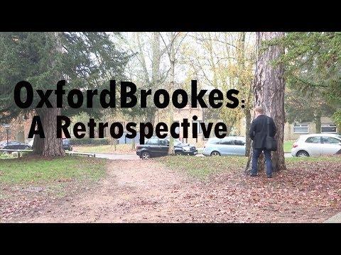 Oxford Brookes University: A Retrospective