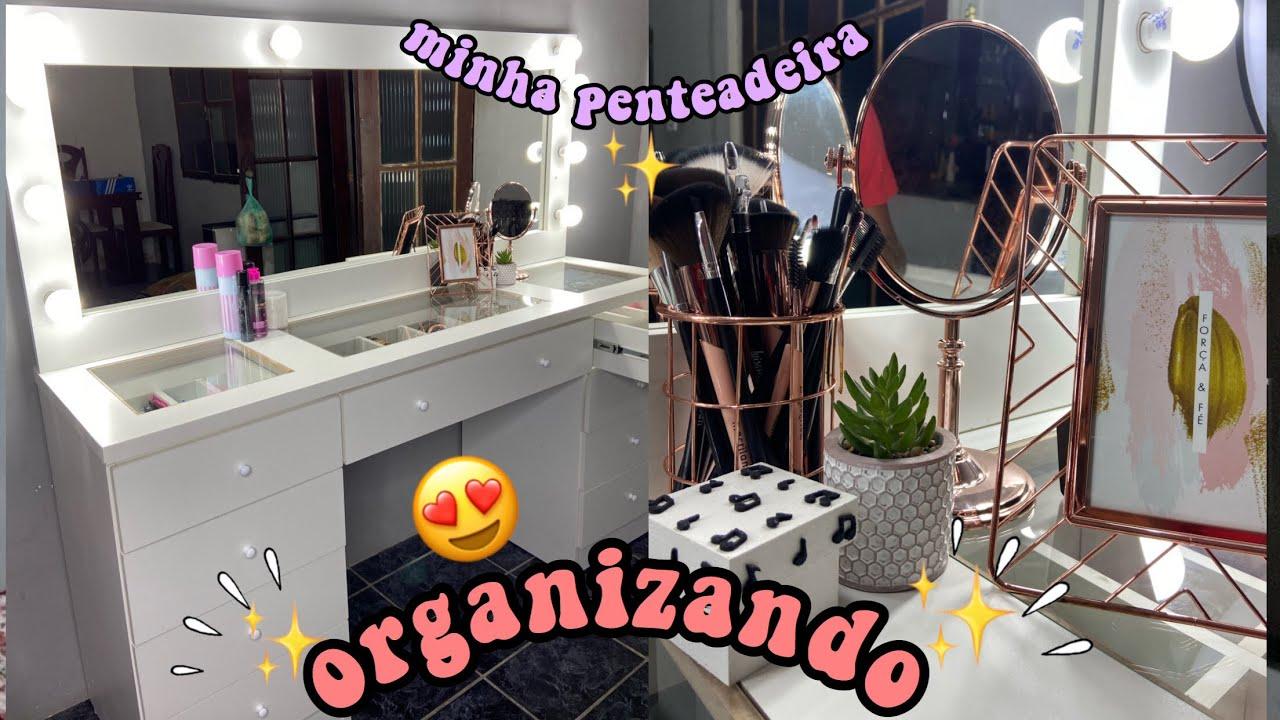 MINHA PENTEADEIRA CHEGOU!! + ORGANIZANDO