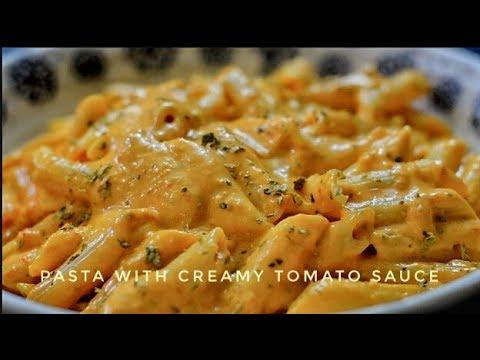 Pasta With Creamy Tomato Sauce | Pasta Recipe – Reena Ki Rasoi