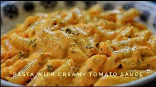 Pasta With Creamy Tomato Sauce   Pasta Recipe - Reena Ki Rasoi
