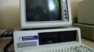 1986 IBM XT booting to DOS 3.1