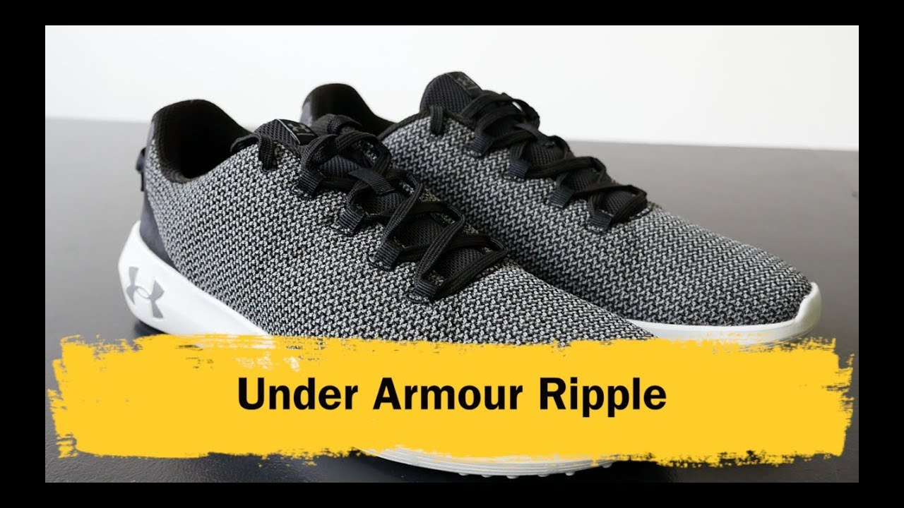 ua ripple shoes review