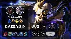 Kassadin Jungle vs Elise - EUW Grandmaster Patch 10.4