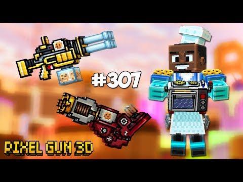 Pixel Gun 3D - Набор Короля Печенек 👑 (307 серия)