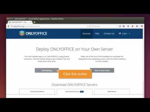 Installing Community Server for Docker on a local server - ONLYOFFICE
