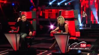 Yulya Zaqaryan,Ride by Lana Del Rey - The Voice Of Armenia - Blind Auditions - Season 2