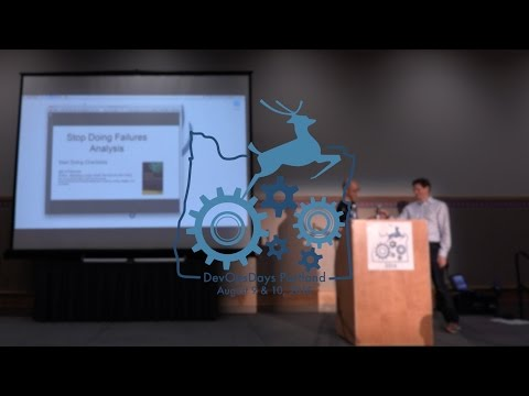 DevOpsDays Portland, 2016: Eric Passmore - 5min ignite - Stop doing FMA & Start doing Checklists
