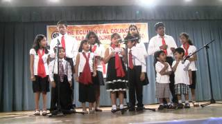 Kids Malayalam Group Song - May 2010
