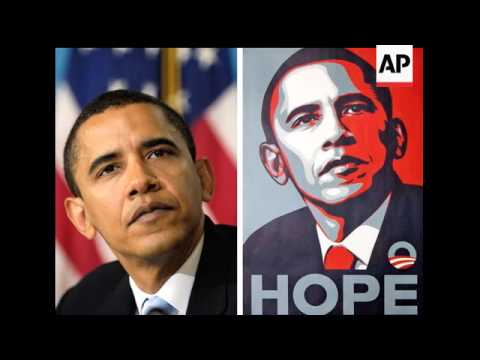 The Associated Press has sued an artist and his company over an image of President Barack Obama. She